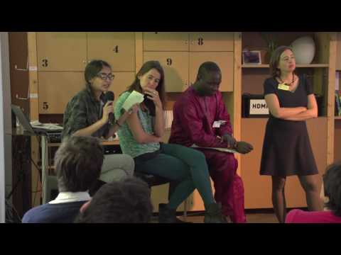 Shiba Desor, Virginie Pissoort, Pascal Gbenou - Panel discussion (Forum Menu for Change)