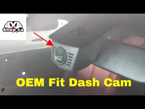 OEM FIT DASH Cam And 10.25