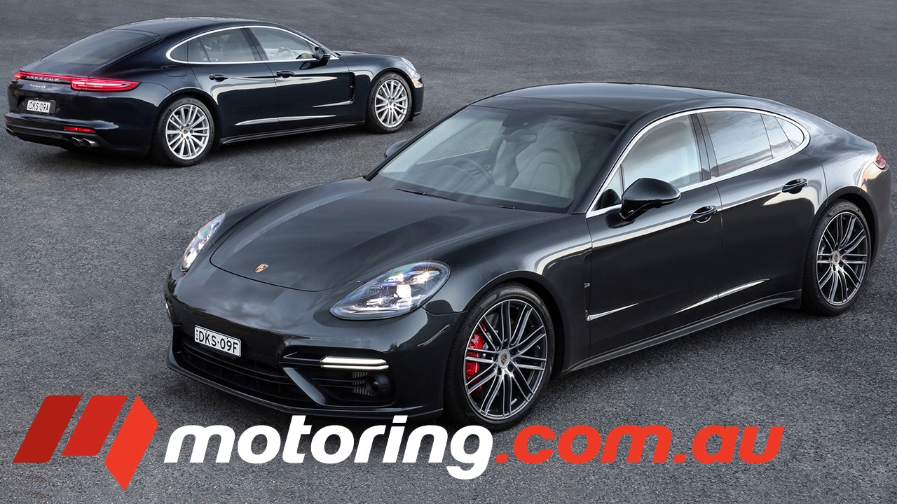 2017 Porsche Panamera 4s And Turbo Review