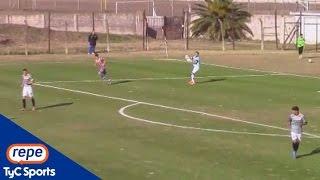 rodrigo cervetti convirti un gol en contra inslito en comunicaciones atlanta