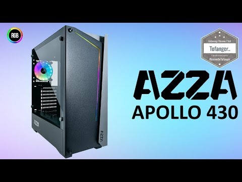 AZZA APOLLO 430 - Boitier PC Gamer RGB - Gaming Case  - Unboxing