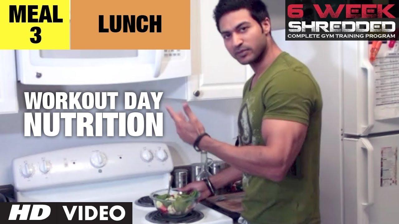Workout Calendar By Guru Mann : Meal lunch workout day nutrition guru mann week