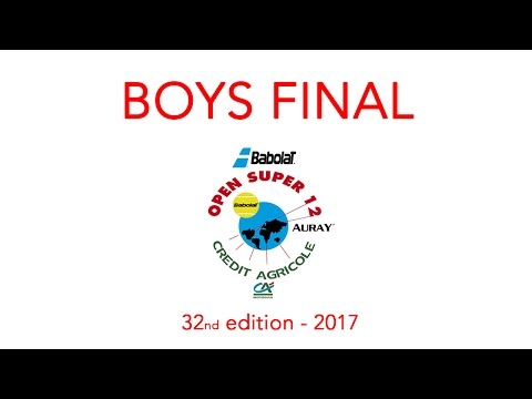 DJURIC (SRB) vs PRIZMIC (CRO) - Open Super 12 Auray Tennis - Boys Final