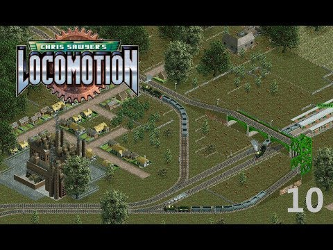 Chris Sawyer's Locomotion Let's Play [10] - Great Britian & Ireland with Mod |