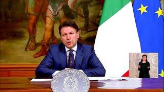 Durissimo attacco del presidente consiglio giuseppe conte a matteo salvini e giorgia meloni, per le critiche in merito all'accordo raggiunto dall'eurogru...