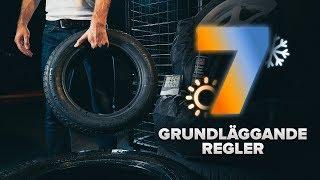 Byta Bränslefilter på Volvo v50 mw - gratis videotips