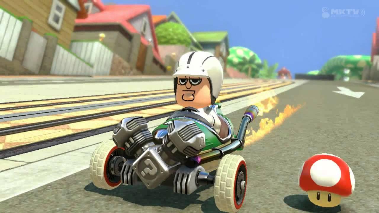 peters kart Family Guy's Peter Griffin goes freakin' wild in Mario Kart 8  peters kart