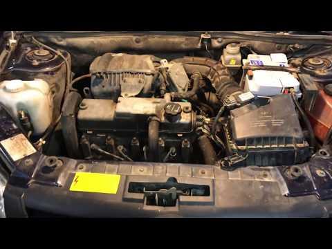 Чистим заржавевший номер двигателя Лада Гранта