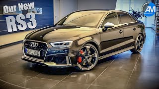 Our BLACK RS3 Sedan - Ingolstadt Collection Day!🤩