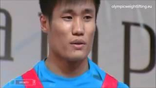 Lu Xiaojun at 2010 World Weightlifting Championship