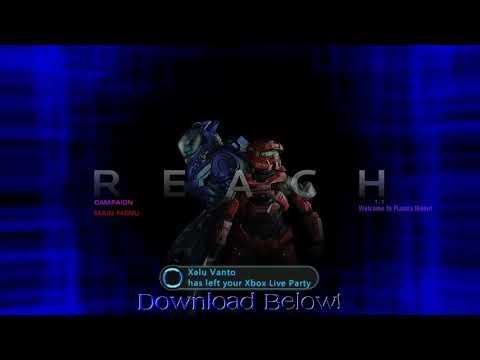 My Halo Reach Plasma Menu + DL!