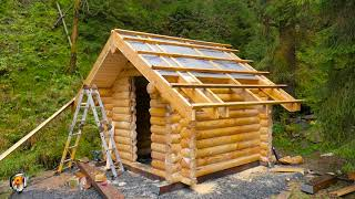 Blockhaussauna Gartensauna selber bauen. Blockhaus Bausatz Außensauna von TimberTeam