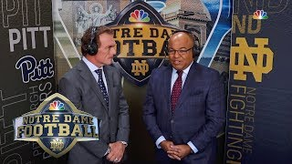 Analyzing Notre Dame's path to the College Football Playoff I NBC Sports