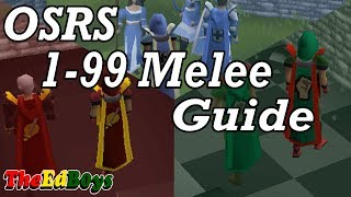 OSRS 1-99 Melee Guide   Updated Old School Runescape Attack Strength Defence Guide