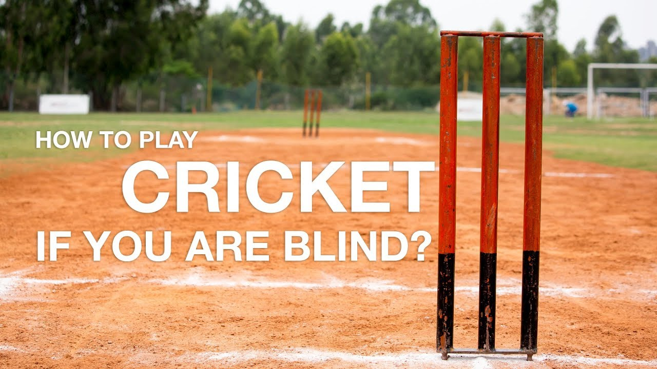 How can blind people play cricket if they can't see the ball? | Street Stories | Raisin George
