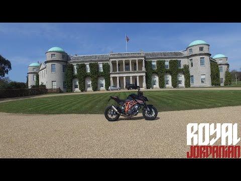 Goodwood House & Circuit on a KTM 1290 Super Duke R