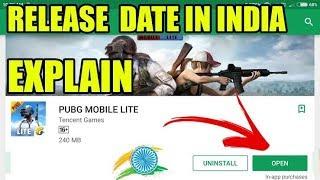 PUBG lite release date in India ???