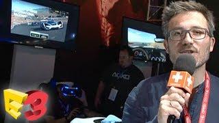 E3 2017 : On a testé GT Sport en VR, nos impressions pied au plancher