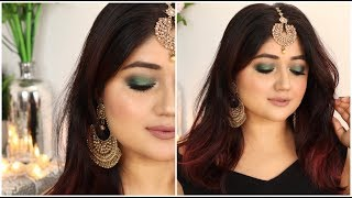 Indian Wedding Makeup Looks for Day + Night   corallista