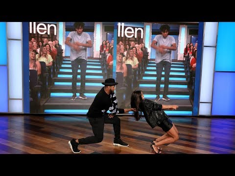 Ciara and tWitch Play 'Can tWitch & Ciara Dance... with What's Behind Them?'