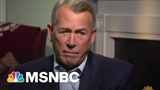 Boehner Torched After Blasting 'Lucifer' Cruz And GOP He Enabled | The Beat With Ari Melber | MSNBC