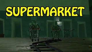 HELLO NEIGHBOR BETA SUPERMARKET NIGHTMARE ROOM