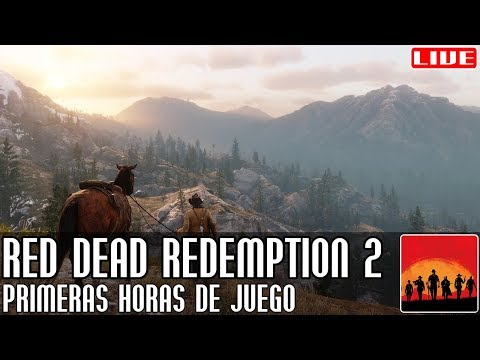 Red Dead Redemption 2 || Primeras horas de juego || LIVE thumbnail