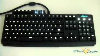 Gigabyte AiVia Osmium Gaming Keyboard Unboxing + Review