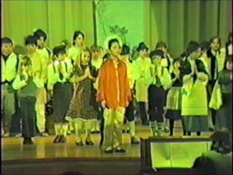 Freedom Bound - 1986 musical with IEF students at the Green Brook High School auditorium - Part 4