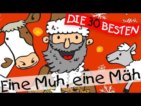 Eine Muh, eine Mäh - Weihnachtslieder zum Mitsingen || Kinderlieder