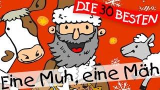 Eine Muh eine Mh - Weihnachtslieder zum Mitsingen  Kinderlieder