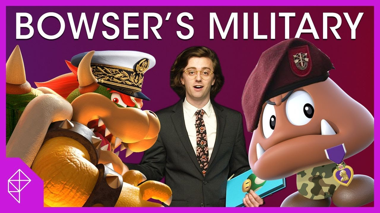 Bowser's military hierarchy   Unraveled