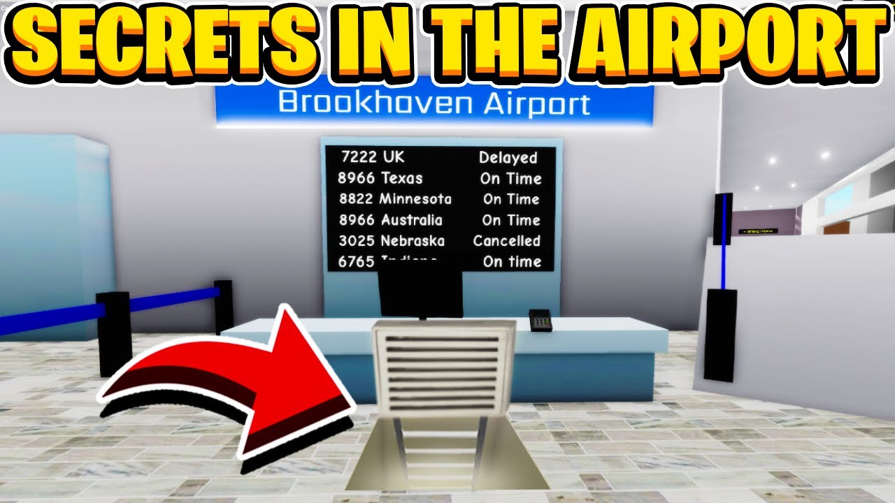 Download Is There A Big Secret Hidden In The Airport In Roblox Brookhaven RP
