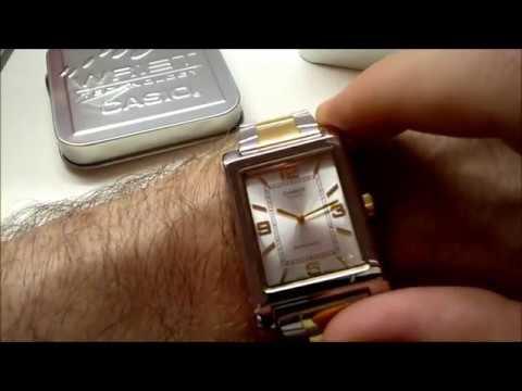 Pánské hodinky Men´s watch Casio Collection MTP 1234SG 7A (unboxing)