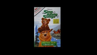 Digitized closing to Disney's  SingAlong Songs Brother Bear: On My Way (USA VHS)