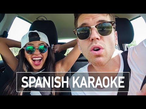 I MADE MY GERMAN BOYFRIEND SING IN SPANISH!!