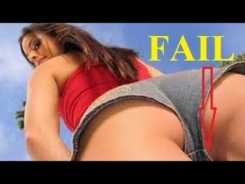 Sexy funny girl fails