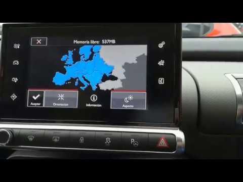 Cómo actualizar el navegador NaviDrive de Citroën