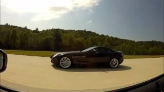 Nissan GTR vs McLaren SLR