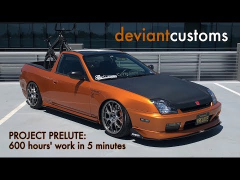 Episode P1: The PRELUTE // A DIY, full-metal, Japanese El Camino