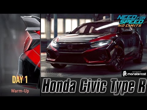 Need For Speed No Limits: Honda Civic Type R | Proving Grounds (Day 1 - Warm-Up)