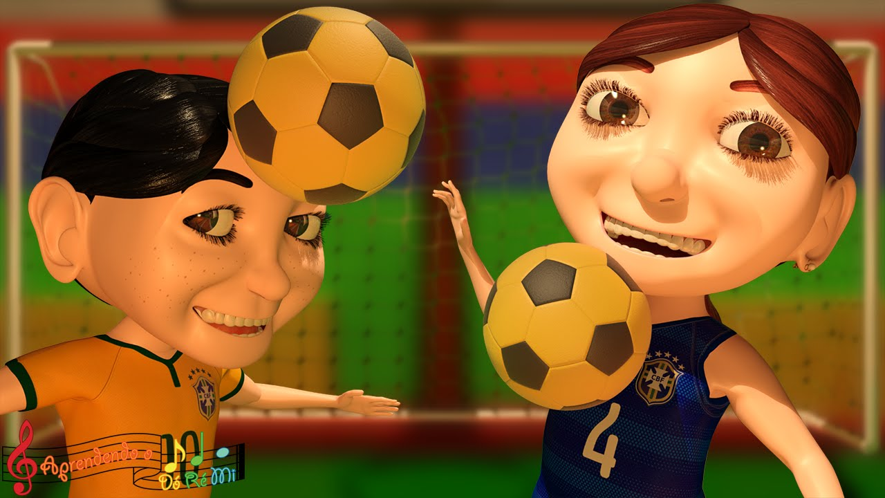 Futebol (Música Infantil de Incentivo aos Esportes)