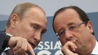 Новости 2014! Путин и Олланд говорили о Донбассе, а не о 'Мистралях'! Россия, сегодня mp4