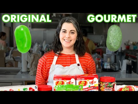 Pastry Chef Attempts To Make Gourmet Jelly Belly Jelly Beans | Bon Appétit