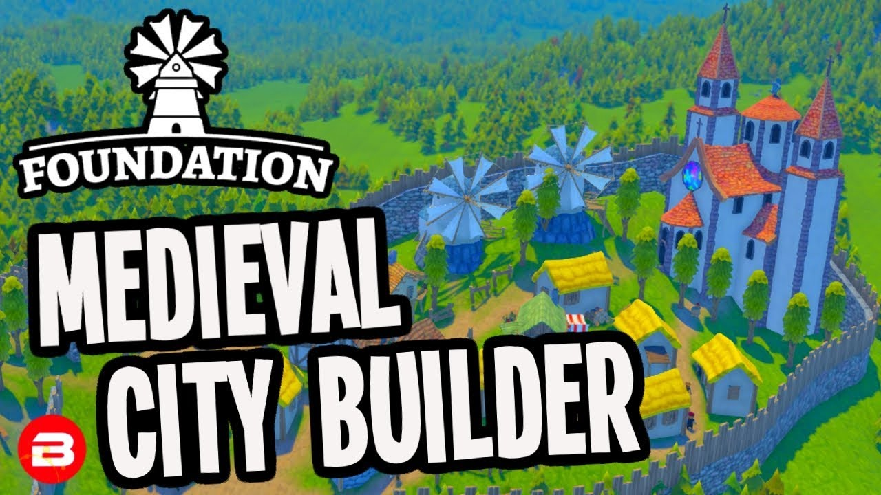 Foundation Polymorph Games foundation: ▶starting first city◀ medieval city building game #1 (alpha)