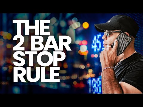 A Simple Trick To Avoid #Trading Losses // The 2 Bar Stop Rule Explained