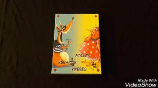 Le jeu de cartes Poules Renards Vipères