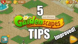 5 Tips to Pass Gardenscapes levels!