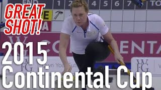 Maria Prytz - Triple takeout for five - 2015 World Financial Group Continental Cup