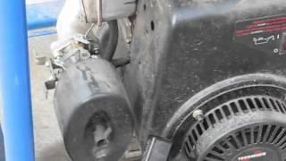 Diagnose surging generator